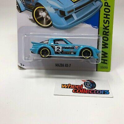 BAD CARD * Mazda RX-7 #193 * TEAL Kmart * 2015 Hot Wheels * R37