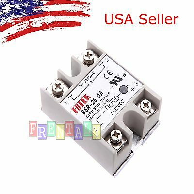 (Output 24V-380V 25A SSR-25 DA Solidstate Relay PID Temperature Controller)
