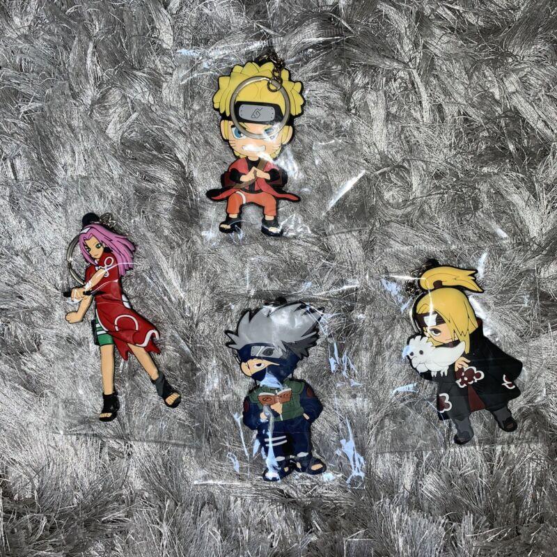 Naruto Keychain Set