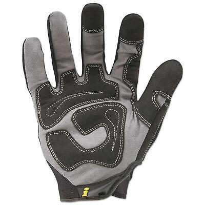 Ironclad General Utility Spandex Gloves, Black, Medium, Pair