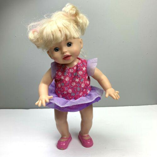 Mattel Fisher Price Little Mommy Dancy Dancy Interactive Dancing Doll Blonde