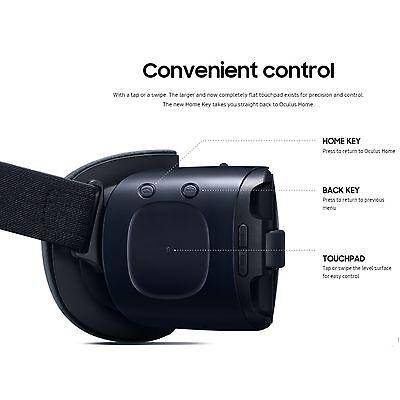 Samsung Gear VR Oculus 2016 SM-R323 for Galaxy Note 5 S7 S6 edge+ Black Blue