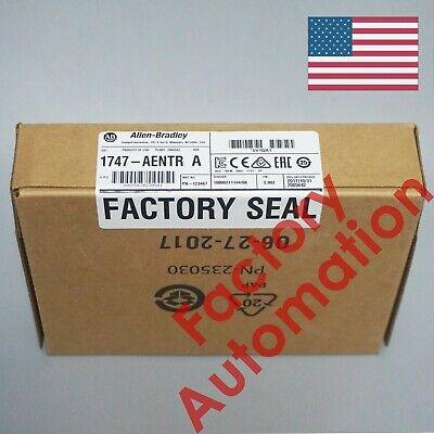 2018 Us Stock Allen-bradley Slc 500 Ethernetip Adapter 1747-aentr