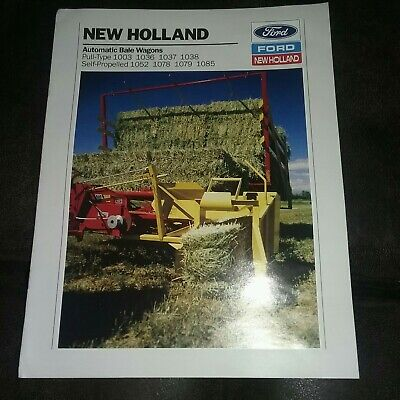 New Holland Bale (New Holland Automatic Bale Wagons Dealers Brochure  )