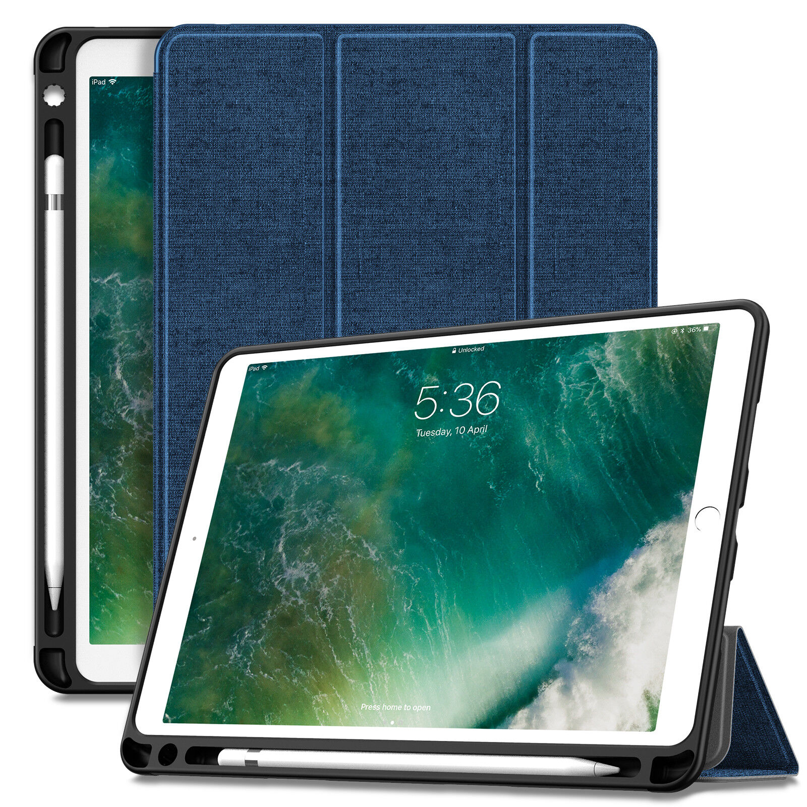 """Shockproof Cover Stand Case for iPad Pro 10.5"""" 2017, iPad Ai"""