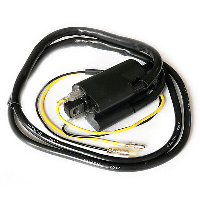 MOTORCYCLE 12V TWIN HT LEADS POINTS IGNITION MOTORBIKE IGNITION COIL 9