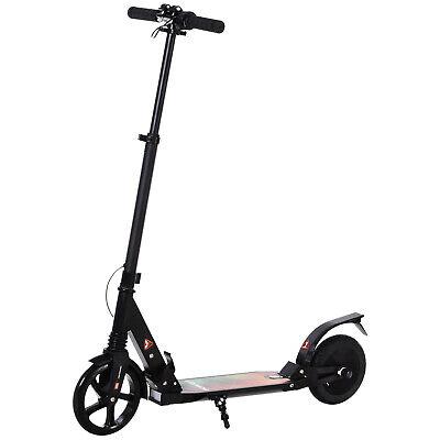 HOMCOM E-Scooter Plegable Patinete Eléctrico 14 Años+ Manillar Ajustable 15km/h