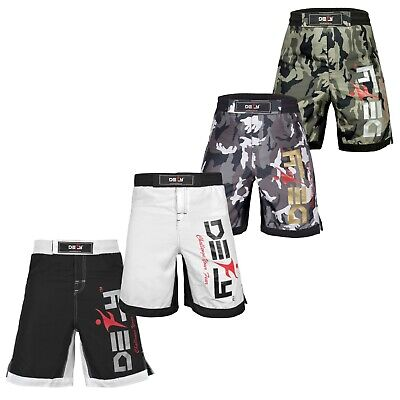 DEFY New MMA Boxing X-Treme Shorts Gym Muay Thai UFC Cage Fight BJJ Grappling -