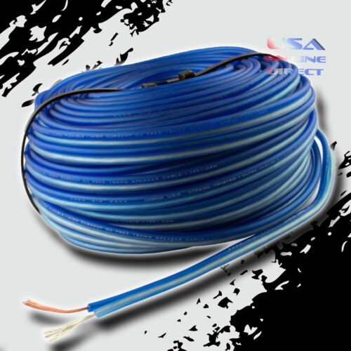 16 Gauge 100 Feet OFC 100% Copper Marine Car Home Audio Speaker ZIP Cable Wire