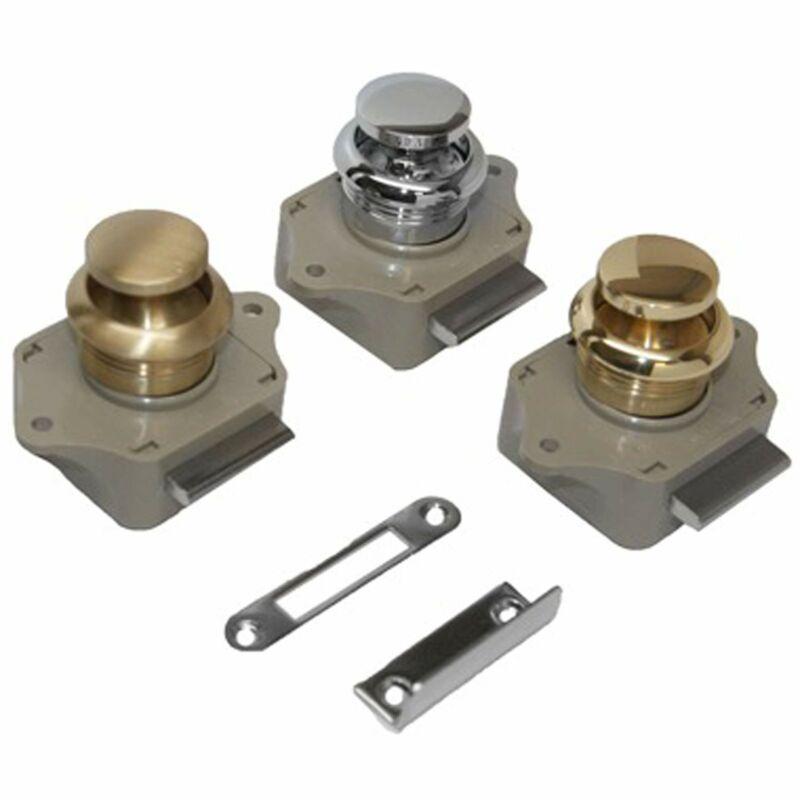 Sea-Dog 224300-1 Push Button Rim Latch - #6 Rh