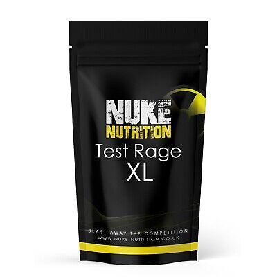 Nuke Testosterone Booster - Test Rage XL - Anabolic Male Enhancer & Libido Gain