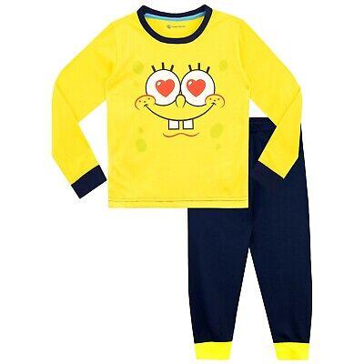 Spongebob Squarepants Pjs (SpongeBob SquarePants Pyjamas | Girls Sponge Bob Square Pants PJs)