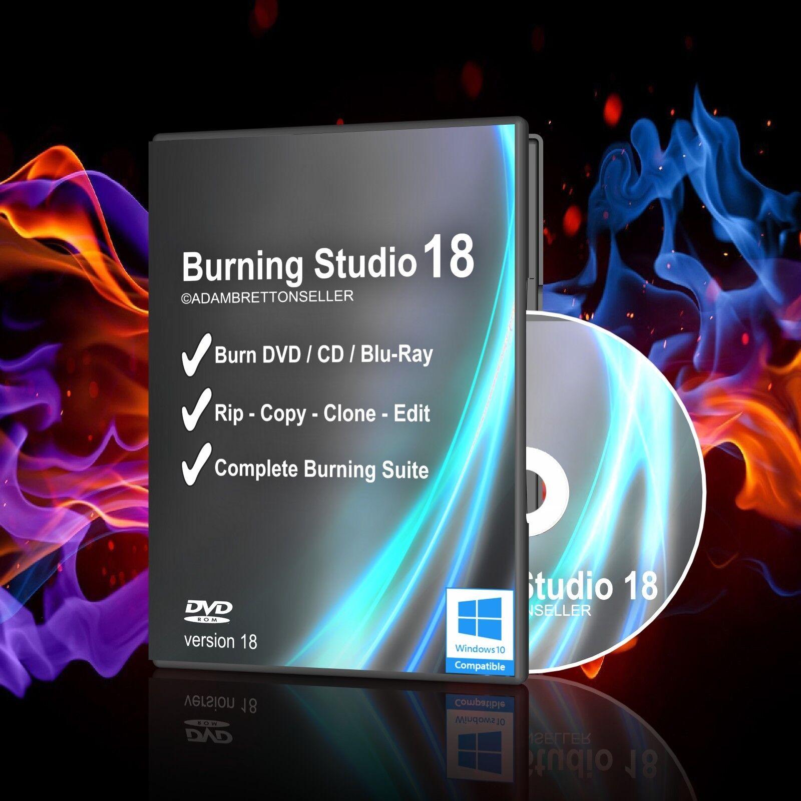 DVD/CD Burning Software - Copy/Clone/Backup/Edit/Burner/Ripper