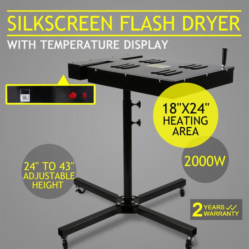 "18""X24"" Flash Dryer Silkscreen Curing Screen Printing Adjustable Electrical DIY"