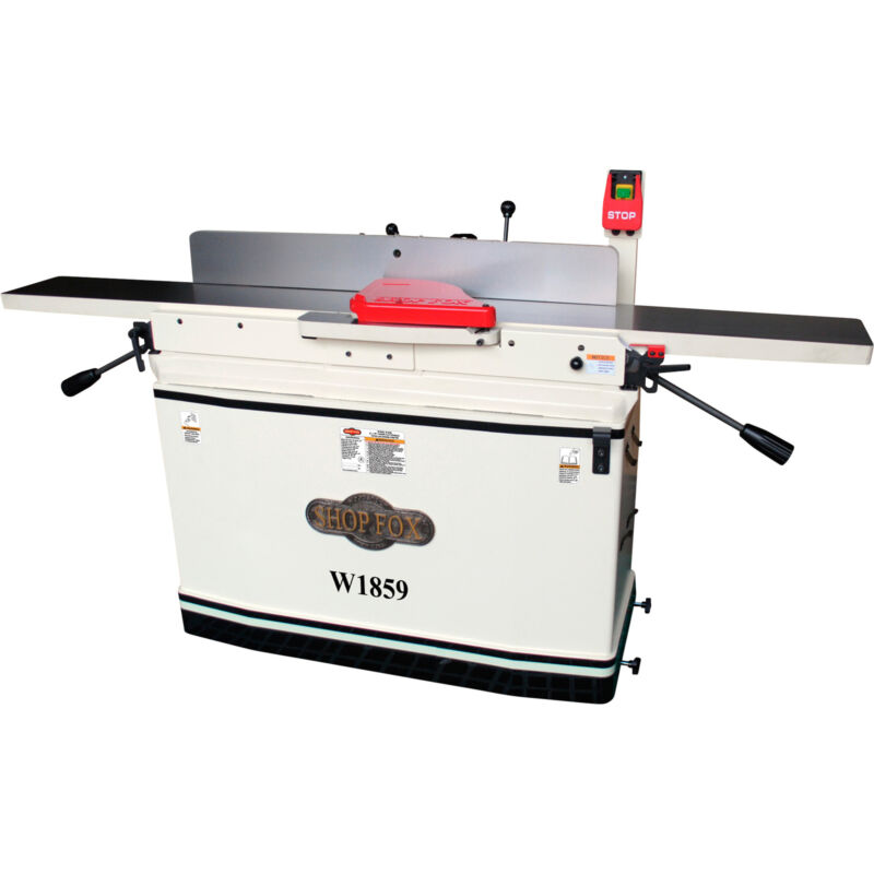 Shop Fox 8in. x 76in. Parallelogram Jointer with Mobile Base, Model# W1859