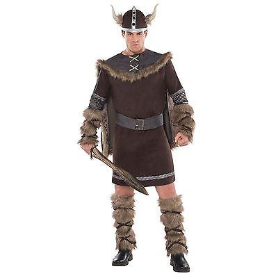Buch Woche Erwachsene Wikinger Fancy-Dress Kostüm Mittelalterliche - Alte Kostüm Buch