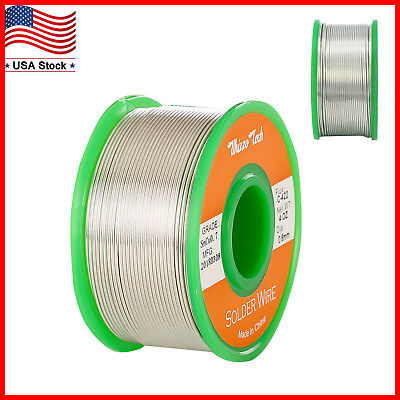 Lead Free Solder Wire Sn99.3 Cu0.7 with Rosin Core for Electronic Soldering 100g](rosin core solder for electronics)