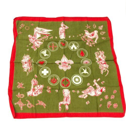 Vintage BSA Boy Scouts handkerchief