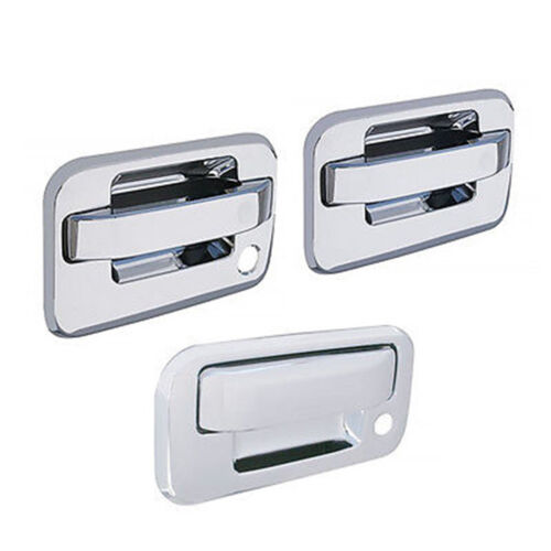 2004-2014 Ford F-150 F150 Pickup Truck Chrome Door & Tailgate Handles Cover Set
