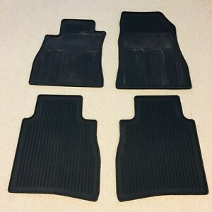 All weather rubber floor mats for Nissan Sentra