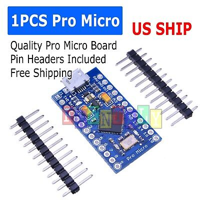 New Leonardo Pro Micro Atmega32u4 5v16mhz Replace Atmega328 Arduino Pro Mini