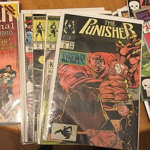 Punisher comics lot Marvel