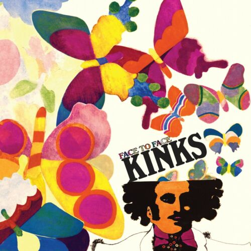 The KINKS Face to Face BANNER HUGE 4X4 Ft Fabric Poster Tapestry Flag cover art