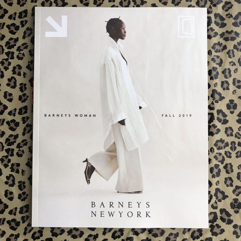 Barneys New York Woman Fall 2019 Catalog Magazine *Collectors Item*