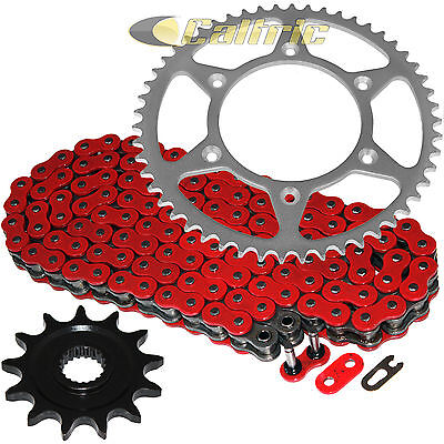 - Red O-Ring Drive Chain & Sprocket Kit Fits HONDA CR125R 1987-2003