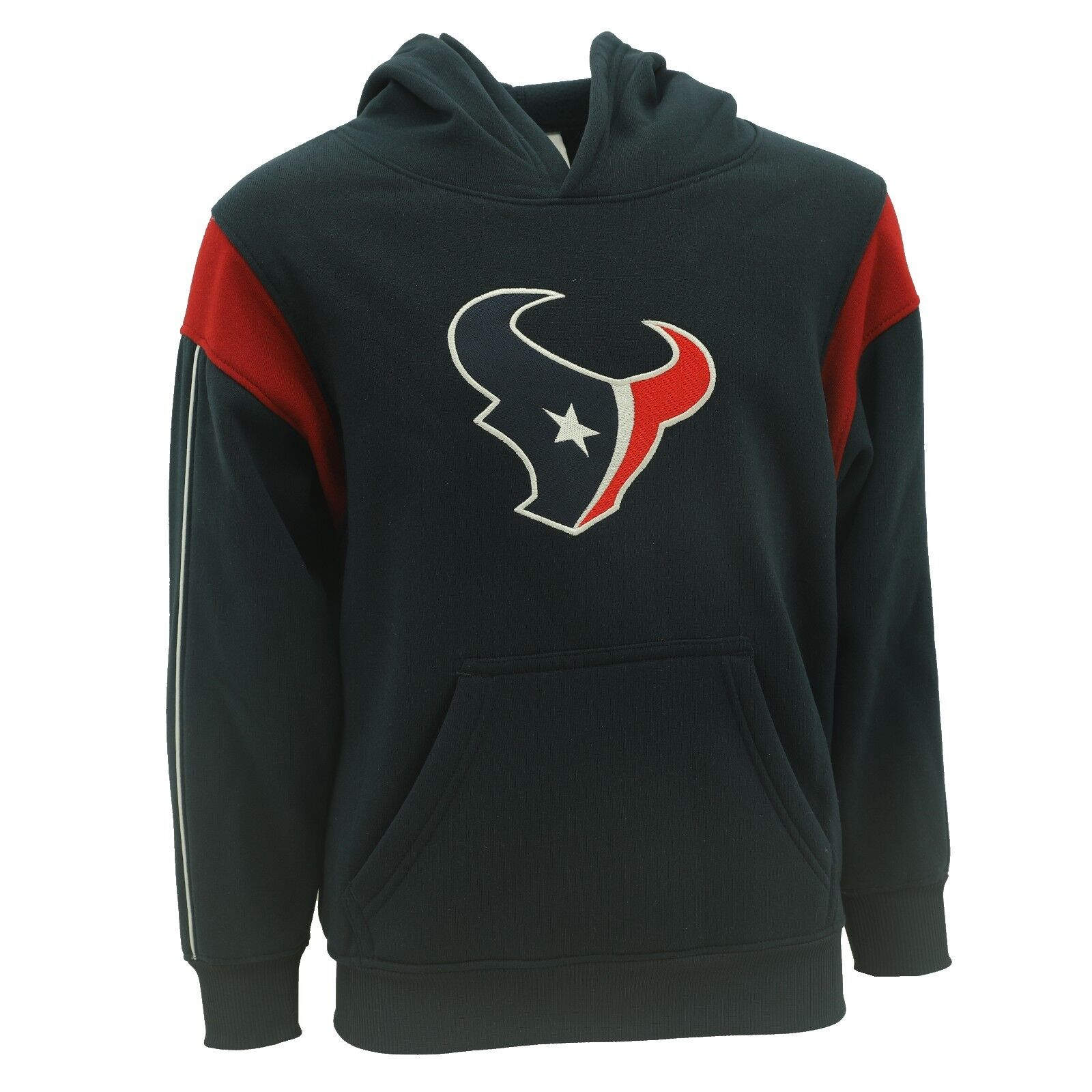 246841c4 Details about Houston Texans Youth Kids Size NFL Football Hooded Sweatshirt  New