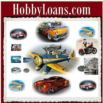 Hobby Loans .com Fishing Hunting Boating Classic Cars Airplanes Motorcycle Cash