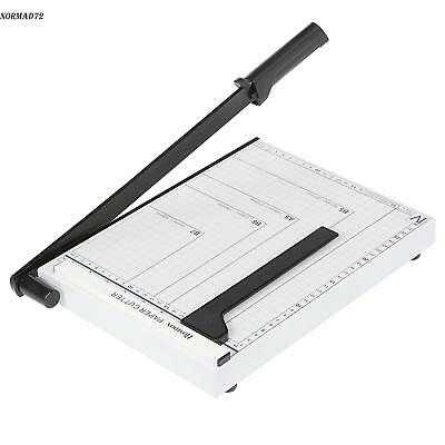 Heavy Duty Guillotine Paper Cutter A4 To B7 Photo Cut Trimmer Steelnd71