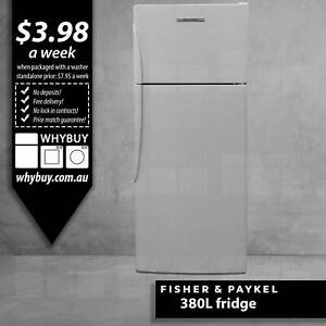 380L Fisher Paykel frost free fridge freezer Clayton Monash Area Preview