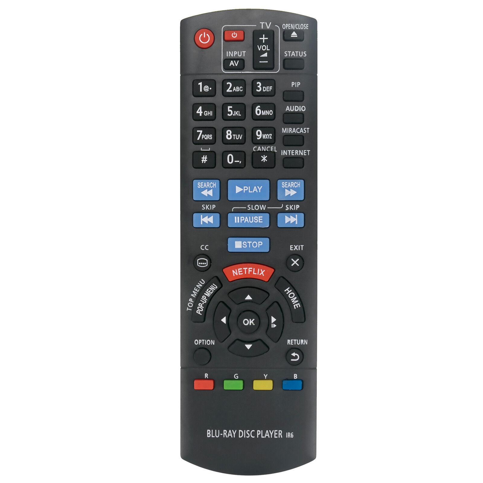 N2QAYA00080 Replace Remote Control for Panasonic Blu-ray Blu