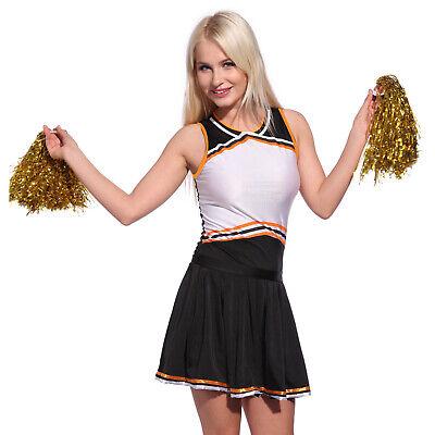 Cheerleader Kostüm Cheerleading Schoolgirl Uniform Fancy Dress Damenmode Prost