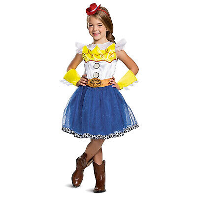 Toy Story Jessie Toddler Halloween Costume (Girls Toy Story 4 DELUXE Jessie Halloween Costume Tutu Dress Hat Toddler)