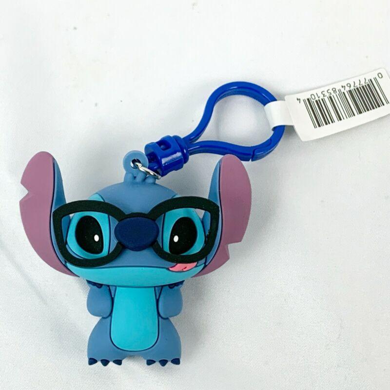 Disney Lilo & Stitch Figural Bag Clip Series 3 Nerdy Stitch 3 Inch