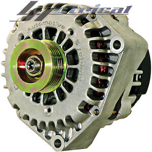 100-NEW-HIGH-OUTPUT-250AMP-ALTERNATOR-FOR-CHEVY-GMC-CADILLAC-ONE-YEAR-WARRANTY
