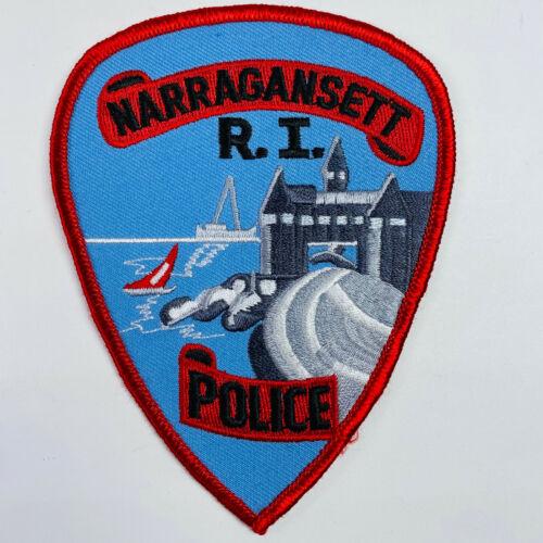 Narragansett Police Rhode Island RI Patch (A3-A)