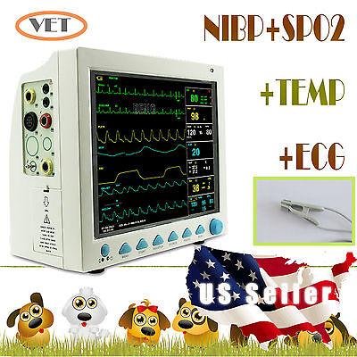 Usa Sellerveterinary Vet Cms8000 Patient Monitornibpspo2precgtempresp