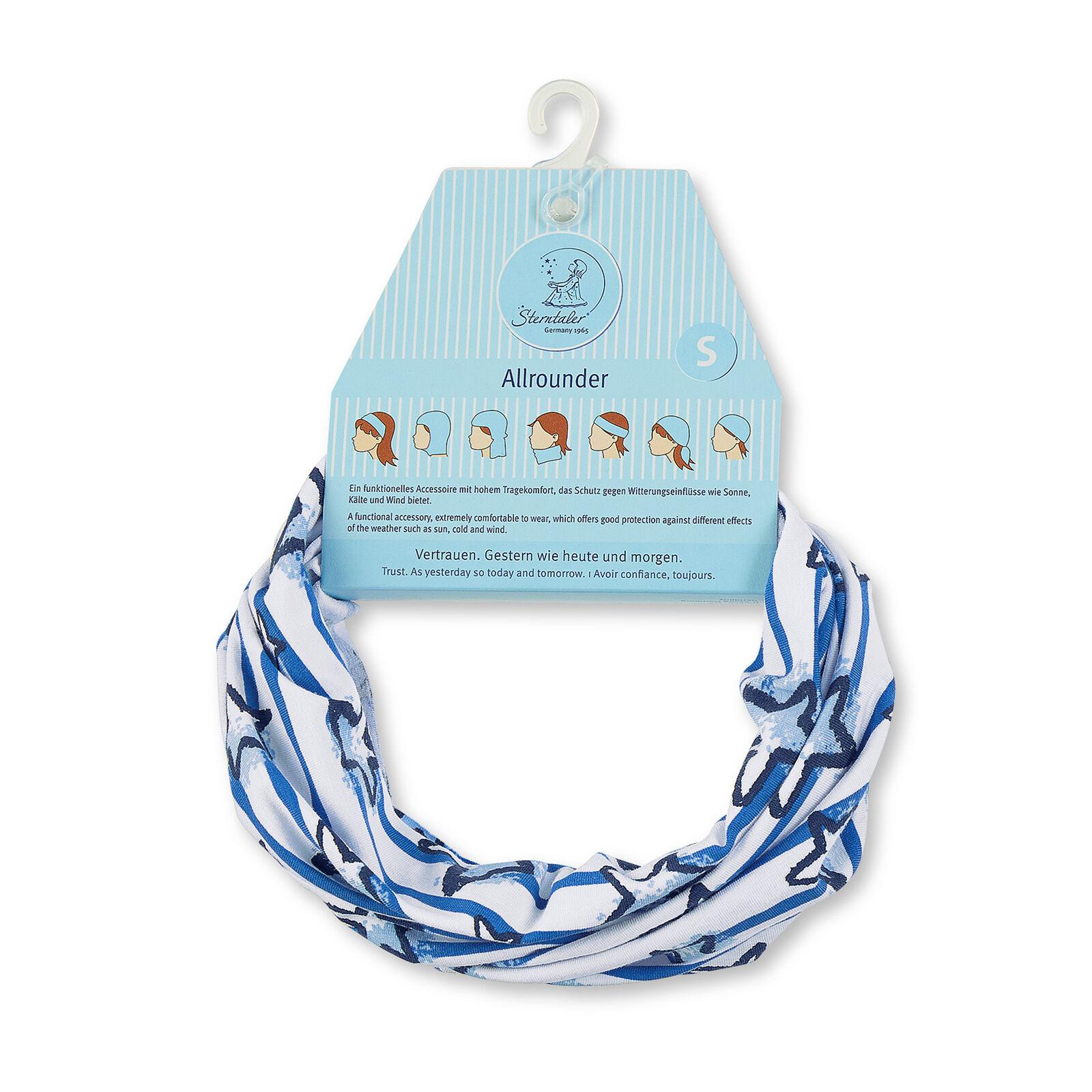 Sterntaler Unisex Jersey Allrounder UV-Schutz 50+ Piratentuch Stirnband Halstuch