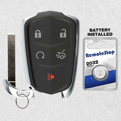 For 2014 2015 2016 2017 2018 Cadillac ATS CTS Keyless Smart Prox Remote Key Fob
