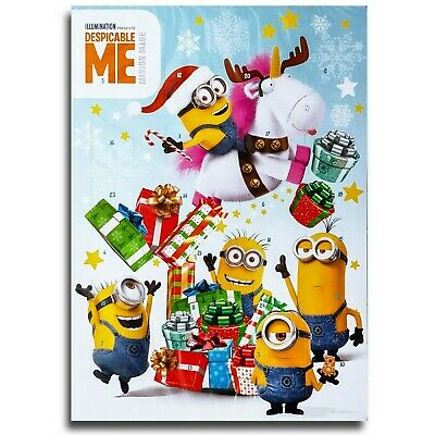 Minions Motif A Chocolate Advent Calendar Whole Milk Christmas