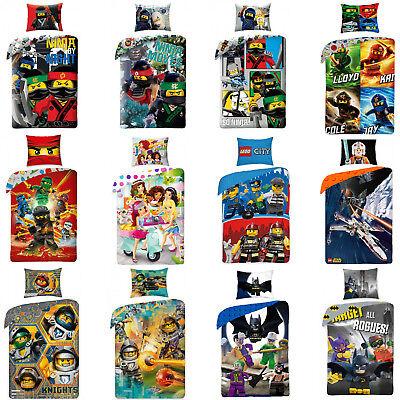 Lego Ninjago Nexo Knights Friends City Children Bedding 140 x 200 CM
