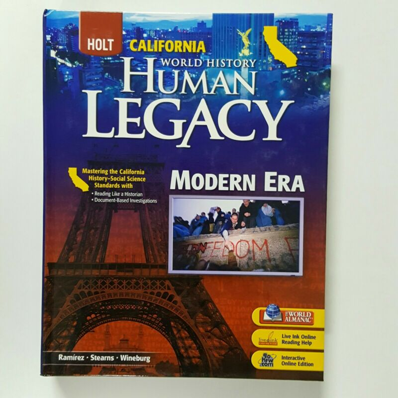 Holt World History: Human Legacy : Student Edition Modern Era 2008 by Ramirez