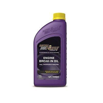 Royal Purple 11487 Engine Break-In Oil 10W-30 Synthetic Motor Oil 1 QT - 1 Quart