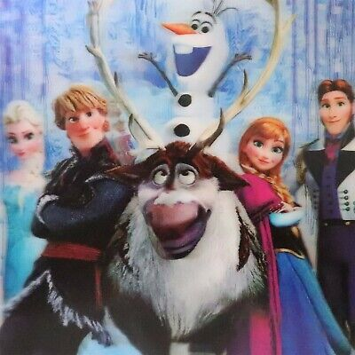 FROZEN Olaf, Kristoff, Hans, Sven, Elsa, Anna,16