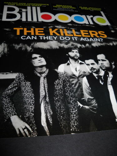 THE KILLERS Can They Do It Again Billboard cover PROMO DISPLAY AD no mail label!
