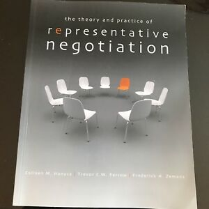 Theory and Practice of Representative Negotiation