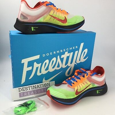 69f7175c9bff7 Nike Doernbecher Freestyle Zoom Fly SP DB M 9 W 10.5 BV8734 100 2018 ...